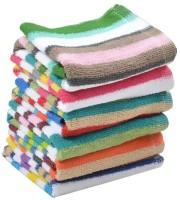 ShopSince Cotton Hand Towel Multicolor Cotton Hand Towel - Set Of 6, Multicolor