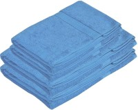 Pipal Shrome Cotton Set Of Towels 4 Bath Towels, Blue
