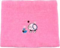 Belle Maison Fancy Cotton Baby Towel (Kids Bath Towel, Pink)