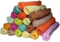 ShopSince Cotton Face Towel Multicolor Cotton Face Towels Set Of 20, Multicolor