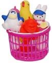 Masoom Squeezy Basket Bath Toy - Multicolor