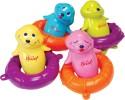 Hamleys Singing Seals Bath Toy - Multicolor