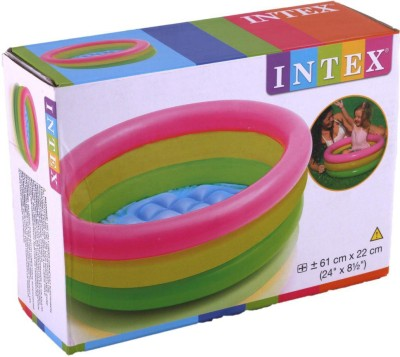 Shopaddict Kids Swimming Pool 2 feet Intex Bath Toy