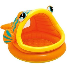 KASCN OPEN MOUTH FISH INTEX BATHING TUB FOR ALL KIDS