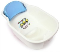 BabyCenterIndia Baby Bath Tub (White And Blue)