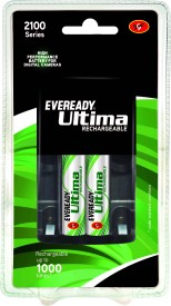 Eveready 2100AA (with 2 Rechargeable battery - 2100 BP2C) Charger