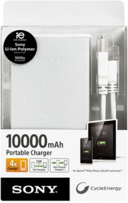 Sony CP-F10L Portable Power Supply at Extra 20% Off - Rs 3975
