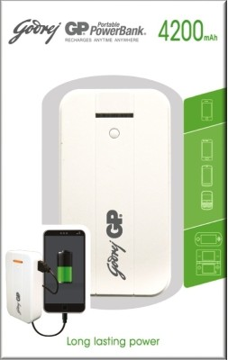 Godrej GP GP541A 4200mAh Power Bank