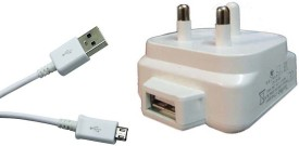 Dhhan 3pin 2.1A USB Adapter With Cable For Lenovo A2010 Battery Charger (White)