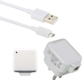 Dhhan 3pin 2.1A USB Adapter With Cable For Samsung Galaxy E5 Battery Charger (White)
