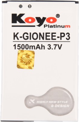 Koyo-1500mAh-Battery-(For-Gionee-P3)