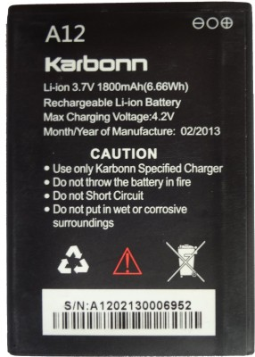 Karbonn A12 Battery