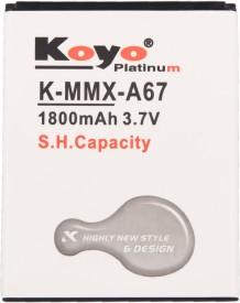 Koyo 1800mAh Battery (For Micromax Bolt A67)