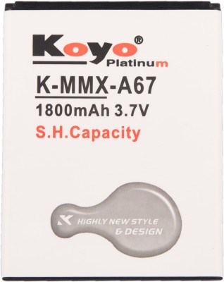 Koyo 1800mAh Battery (For Micromax Bolt A67)