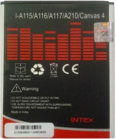 Intex A115 1700mAh Battery (for Micromax Canvas 3D & Canvas 4)