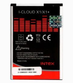 Intex 1250mAh Battery (For Intex Cloud X1/X1 )