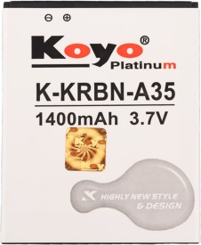 Koyo 1400mAh Battery (For Karbonn A35)