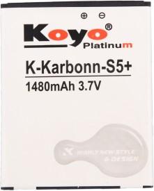 Koyo 1480mAh Battery (For Karbonn S5 Plus)
