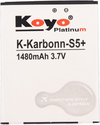 Koyo 1480mAh Battery (For Karbonn S5 Plus)