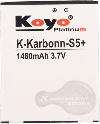 Koyo-1480mAh-Battery-(For-Karbonn-S5-Plus)