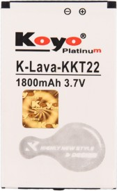 Koyo 1800mAh Battery (For Lava Kkt22)