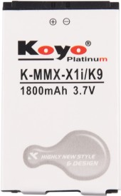 Koyo-1800mAh-Battery-(For-Micromax-X1i)