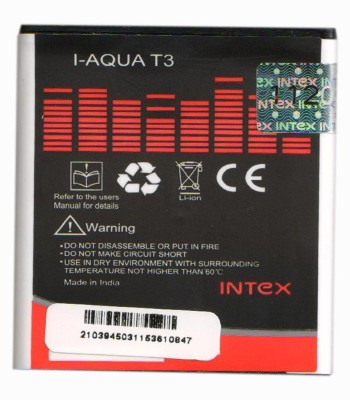 Intex 1300mAh Battery (For Aqua T3)