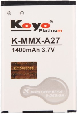 Koyo-1400mAh-Battery-(For-Micromax-A27)