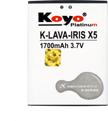 Koyo 1700mAh Battery (For Lava Iris X5)