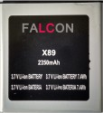 Falcon  Battery - For Micromax Ninja A89 Battery (Black, Silver)