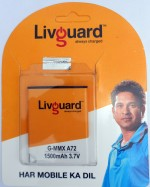 Livguard G MMX A72 Battery for Micromax Canvas Viva A72