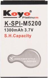 Koyo-1300mAh-Battery-(For-Spice-M-5200)