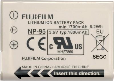 Fujifilm battery NP 95 White available at Flipkart for Rs.2400