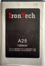 IronTech For Micromax A25 Battery