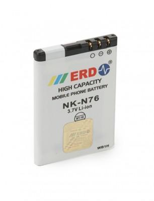ERD Compatible With Nokia 2630/ 2660/ 2760/ 7373/ N76/ 6111 / Capacity : 700 Mah