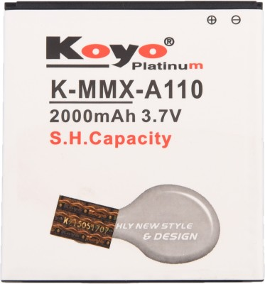 Koyo 2000mAh Battery (For Micromax Canvas 2 A110)