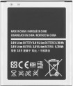 Samsung  Battery - Samsung Galaxy Star Pro S7262(1500mAh) (Black, Silver)