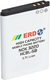 ERD 800mAh Battery (For Nokia 3220/N80/N90/3230/5140/5140i/5200/5500/6020/6021/6060/6360/GFive C1)