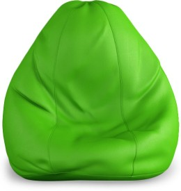 India Furnish XL Bean Bag cover- (Without Beans) Teardrop Bean Bag  Cover (Without Filling)