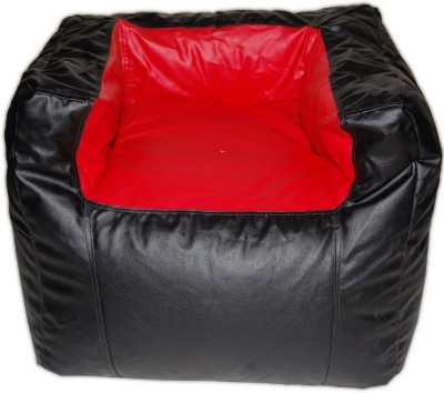 Cozy Bags NEBARRCHRD&BL Bean Bag Chair Without Beans Black, Red Size   Large available at Flipkart for Rs.1499