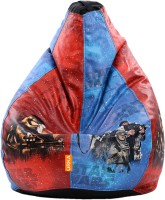 ORKA XXL Star Wars Digital Printed Bean Bag  With Bean Filling (Red, Blue)
