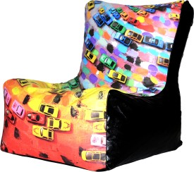 Comfy Bean Bags XXL Bean Bag Chair  With Bean Filling