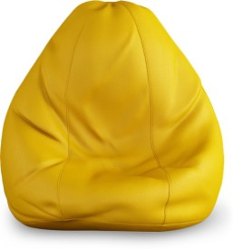 India Furnish XXL Bean Bag cover- (Without Beans) Teardrop Bean Bag  Cover (Without Filling)