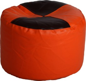 Comfy Bean Bags XL Bean Bag Footstool  With Bean Filling