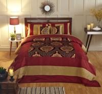 Stoa Paris Silk Double Bed Cover Multicolor - BCVEARZFTQSGC4TZ