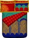 Portico New York Shubhamanglam King Bed Cover - BCVEF5XDNG3KNAGW