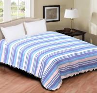Home Originals Polycotton Double Bed Cover Light Blue