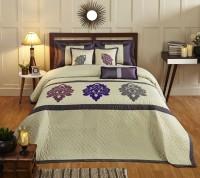 Stoa Paris Silk Double Bed Cover Multicolor - BCVEARZF8ZCWHJHW