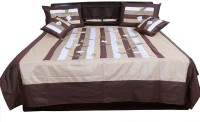 Indigocart Silk Double Bed Cover