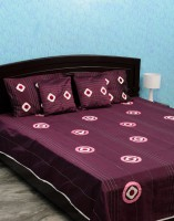 Isha Collections Silk, Cotton, Velvet Double Bed Spread